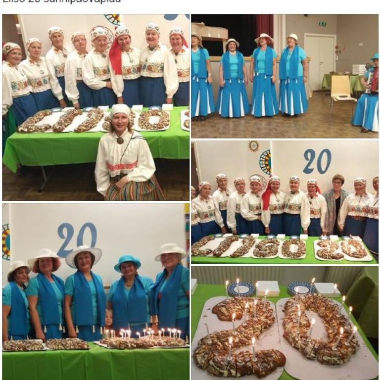 Võru Tallinna Seltsi naisansambel LIISO 20